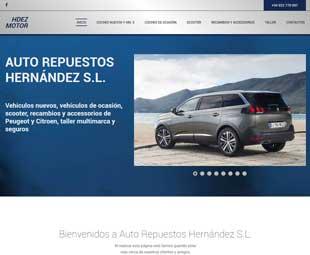 HDEZ MOTOR Auto Repuestos Hernandez S. L.